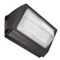 LED Traditional Style Non-Cutoff Wall Pack | E-WRT18 Series | Dark Bronze