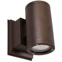 NICOR® LED Round Wall Sconce | OWCR Series | Up and Down