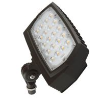 C- Lite LED Flood Light | C-FL-A-LCF Series |1/2-inch Adjustable Fitter Mount | 3000K | Dark Bronze