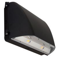 C-Lite LED Full Cutoff Architectural Wall Pack | C-WP-A-ARFC-LG-8L Series | 5000K | Dark Bronze